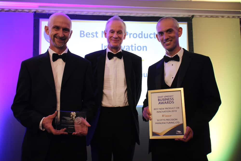 Scotts Precision Manufacturing were the winners of Best New Product or Innovation